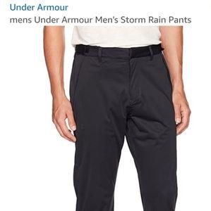 Under Armour Men's Storm Rain Pants Black Size L